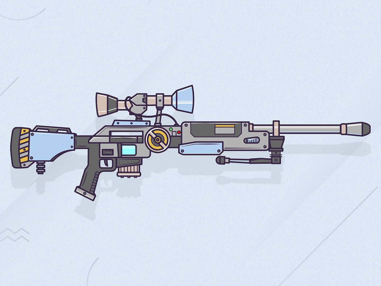 Drawing Artwork Fortnite Guns