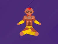 Dhalsim Street Fighter Game Character
