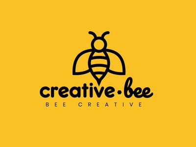 Bee Logo Design in Adobe Illustrator