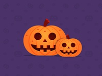 Halloween Pumpkin Design in Adobe Illustrator