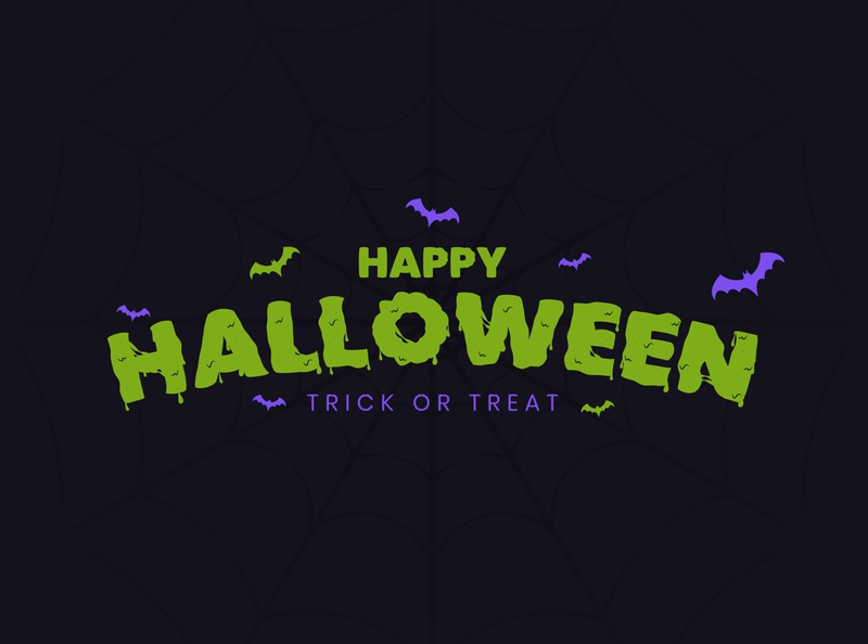 Halloween Gooey Text in Adobe Illustrator adobe illustrator vector artworks vector vector artwork vector art design illustration typography type scary halloween party halloween design halloween