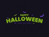 Halloween Gooey Text in Adobe Illustrator