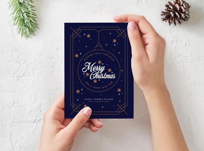 Christmas Card Design - Adobe Illustrator Tutorial branding typography digital adobe illustrator vector artworks vector artwork vector vector art illustration design christmas card christmas