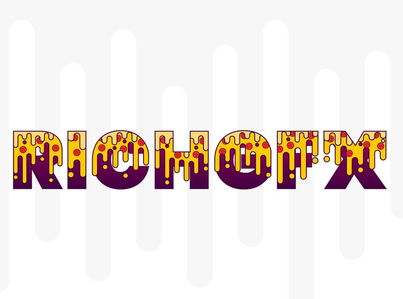 Melting Cheese Text Effect - Adobe Illustrator Tutorial digital logo typography adobe illustrator vector artworks vector artwork vector art vector illustration design