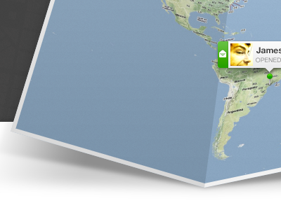 Land ahoy! map google maps campaign monitor realtime