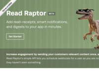 Read Raptor — iMessage-style read-receipts & digests