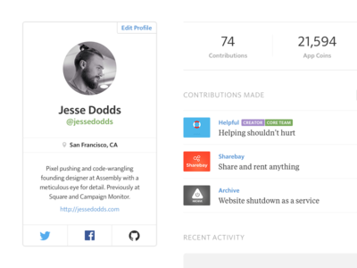 Assembly — User Profile