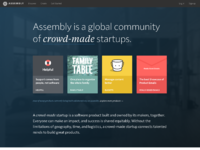 Assembly is a community of crowd made startups %c2%b7 assembly