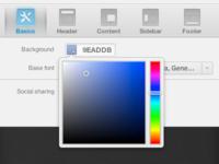 Custom colour-picker