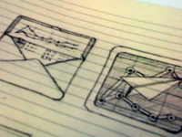 iPhone App Icon Sketches
