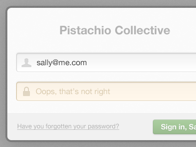 The login lovechild of myself and @mattrobs ux usability delicious ui log in sign in form button