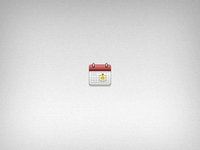 Tweaked Calendar Icon