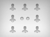 User privilege icon ideas