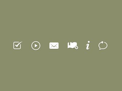 Action Icons Rebound