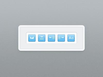 Alignment icons