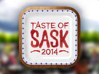 Taste of Sask iPhone App Icon