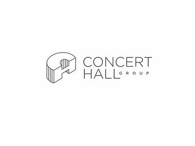 Concert Hall Group / 2020 logo concert monogram logo hall н с