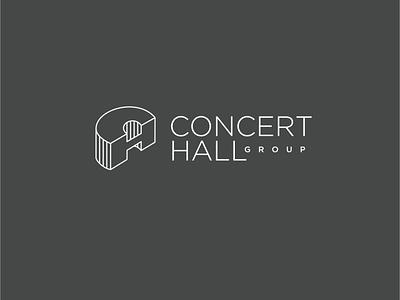 Concert Hall Group / 2020 logo monogram h c
