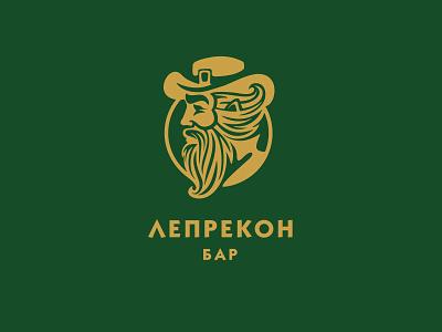 ЛЕПРЕКОН бар man leprechaun bar logo