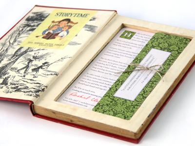 Book2 vintage type texture book