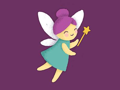 Fairy Doodle ilustration texture doodle
