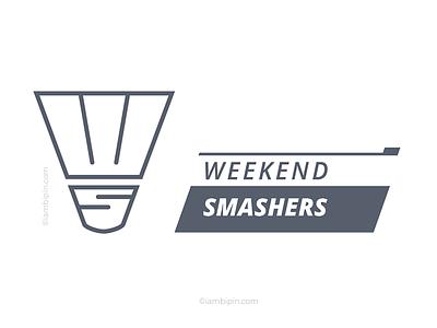 Weekend Smashers Logo   Logo Design   Branding   Identity icon logo design branding identity corporate logo