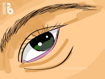 Eye | Digital Painting fast painting wacom intuos painting digital art eye