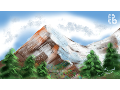 Mountain | Digital Painting