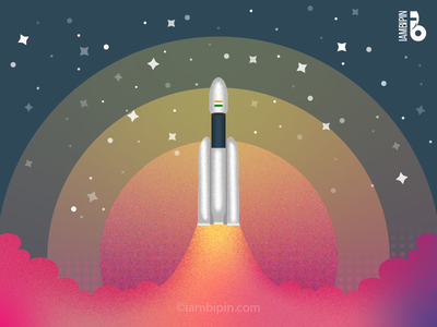 Chandrayaan 2 | Vector Art