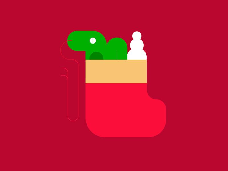 Snake Christmas