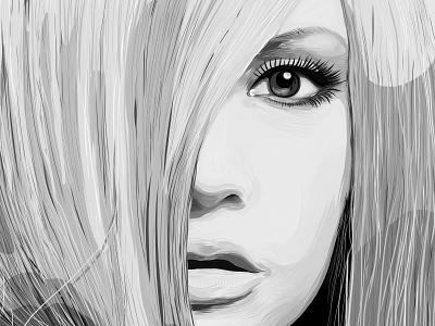Mmm... Marta eyes beautiful girl portrait marta