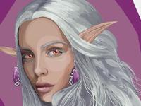 Dark elf girl #2
