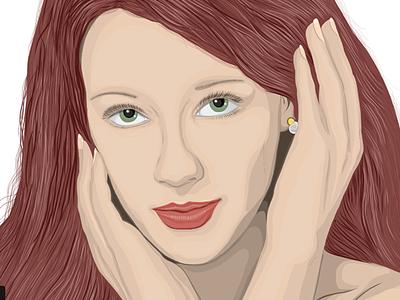 Irene (2k14). friend smile girl beautiful pretty hair eyes portrait colleague irena