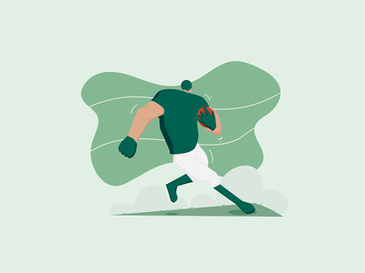 Flat Illustration flat illustration flat sports illustration