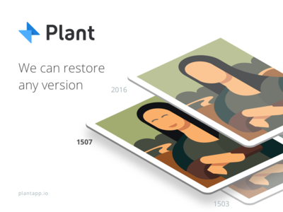 Plant - Version control tool for designers