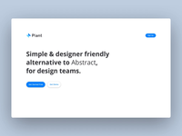 Landing Page Animation