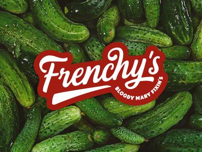 Frenchy's bloody mary logo