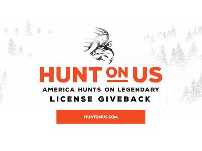 Hunt On Us hunt logo campaign lockup hunting