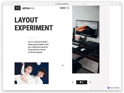 Design to Webflow - Motion - Multipurpose Responsive Hero Header illustration concept web minimalist web design desktop webflow