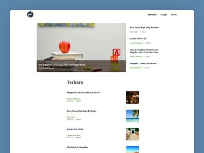 Khairujalis 📰 design minimalist web design ui website news media