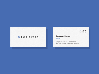 Two River Business Cards