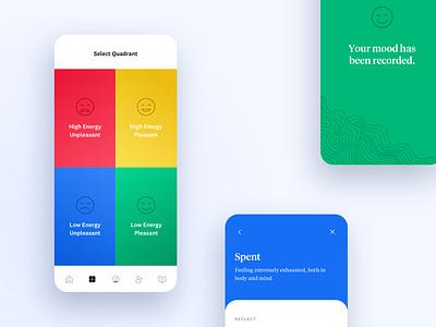 The Mood Meter oji emotional intelligence emotional mood native app ios application mobile