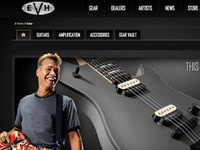 EVH website design