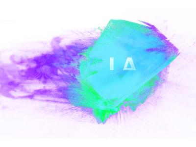 I Δ series.  processing branding la color graphic design uxui illustration