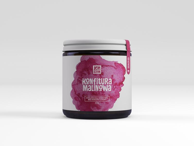 JemDżem design illustration packaging packagingdesign organic logo branding