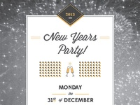 New Years Invite