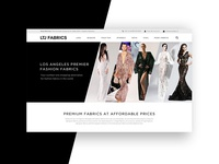 Website for LTJ Fashion Fabrics