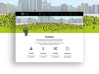 Homepage Design for Dell's Open Source Initiative