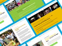 Curefest Landing Page Design