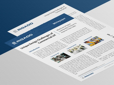 Whitepaper — Commercial IoT Design Challenges